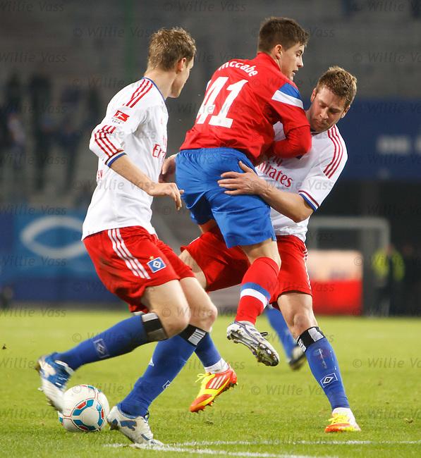 Rhys McCabe stopped ny Slobodan Rajkovic