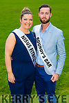 Debbie Guerin and Maurice Quilter  contestants at the Austin Stacks GAA club Launch of Strictly Come Dancing 2015 at the Festival Dome on Saturday 22nd  August at 8pm