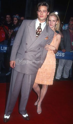 Brad Pitt and Juliette Lewis 1991<br /> Photo By John Barrett/PHOTOlink.net /MediaPunch