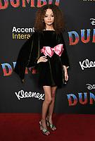 "11 March 2019 - Hollywood, California - Nico Paker. ""Dumbo"" Los Angeles Premiere held at Ray Dolby Ballroom. Photo Credit: Birdie Thompson/AdMedia"