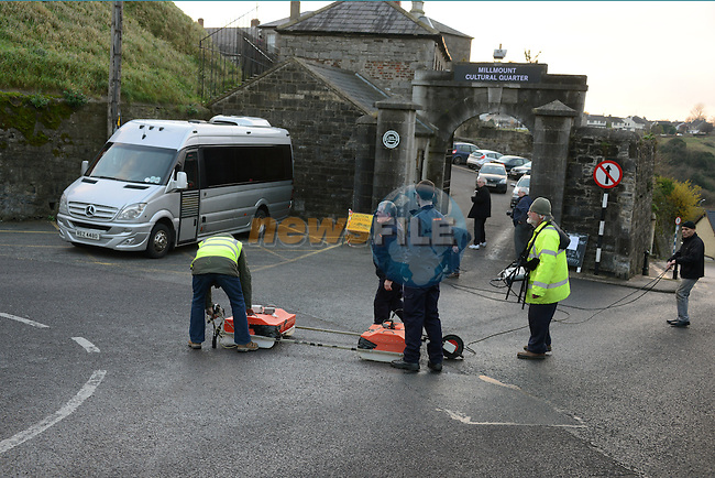 Millmount Survey<br /> Picture: Fran Caffrey www.newsfile.ie