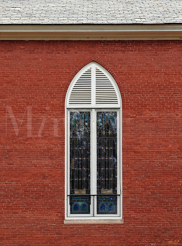 Church window.