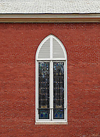 Church window.