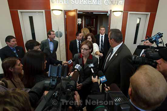 Attorneys for convicted polygamist leader Warren Jeffs argued their case before the Utah Supreme Court Tuesday, November 3 2009 in Salt Lake City, hoping to overturn Jeffs' 2007 conviction as an accomplice to rape. mark shurtleff. Assistant Utah Attorney General Laura Dupaix
