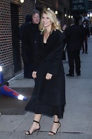NEW YORK, NY - FEBRUARY 5: Claire Danes  arrives at The Late Show With Stephen Colbert on February 5, 2018 in New York City. <br /> CAP/MPI99<br /> &copy;MPI99/Capital Pictures