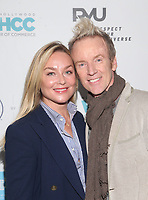 WEST HOLLYWOOD, CA - NOVEMBER 30: Elisabeth Rohm, Steve Valentine, at Stars Shop Small For WeHo On Small Business Saturday at Ysabel Restaurant in West Hollywood, California on November 30, 2019.  <br /> CAP/MPI/SAD<br /> ©SAD/MPI/Capital Pictures