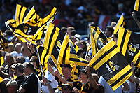 Wasps fans during the Aviva Premiership Rugby semi final match between Saracens and Wasps at Allianz Park on Saturday 19th May 2018 (Photo by Rob Munro/Stewart Communications)