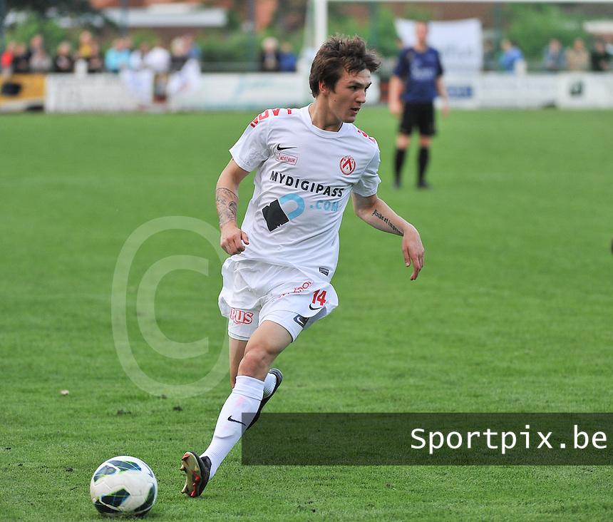 KV Kortrijk - SV Kortrijk : Benito Raman aan de bal <br /> foto VDB / Bart Vandenbroucke