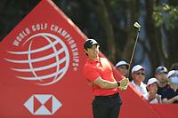 Rory McIlroy (NIR) on the 3rd tee during the 2nd round of the WGC HSBC Champions, Sheshan Golf Club, Shanghai, China. 01/11/2019.<br /> Picture Fran Caffrey / Golffile.ie<br /> <br /> All photo usage must carry mandatory copyright credit (© Golffile   Fran Caffrey)