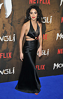 Kara Marni at the &quot;Mowgli: Legend of the Jungle&quot; Netflix special screening, Curzon Mayfair, Curzon Street, London, England, UK, on Tuesday 04 December 2018. <br /> CAP/CAN<br /> &copy;CAN/Capital Pictures