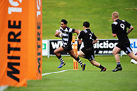Al Momoisea scores during the Jock Hobbs Memorial Under-19 Tournament rugby match between Heartland and Hawkes Bay at Owen Delany Park in Taupo, New Zealand on Saturday, 16 September 2012. Photo: Dave Lintott / lintottphoto.co.nz