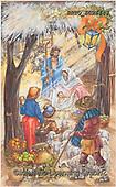 Alfredo, HOLY FAMILIES, HEILIGE FAMILIE, SAGRADA FAMÍLIA, paintings+++++,BRTOEC26143,#xr#