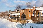 The Mill at Quechee, Quechee village, Hartford, VT, USA