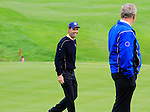 Padraig Harrington all smiles on the 15th green during Practice Day 3 of the The 2010 Ryder Cup at the Celtic Manor, Newport, Wales, 29th September 2010..(Picture Eoin Clarke/www.golffile.ie)