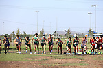 DENTON TX, SEPTEMBER 7: Mean Green men's Cross Country team competes at the Ken Garland Invitational at Discovery Park in Denton on September 7, 2019