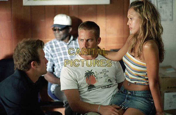 SCOTT CAAN, PAUL WALKER & JESSICA ALBA.in Into The Blue.Filmstill - Editorial Use Only.CAP/AWFF.www.capitalpictures.com.sales@capitalpictures.com.Supplied By Capital Pictures.