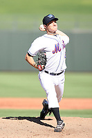 Eric Niesen - Surprise Rafters, 2009 Arizona Fall League.Photo by:  Bill Mitchell/Four Seam Images..