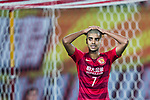 Guangzhou Forward Alan Douglas De Carvalho reacts during the AFC Champions League 2017 Group G match between Guangzhou Evergrande FC (CHN) vs Suwon Samsung Bluewings (KOR) at the Tianhe Stadium on 09 May 2017 in Guangzhou, China. Photo by Yu Chun Christopher Wong / Power Sport Images