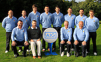 The Cork team during for the AIG Cups &amp; Shields Finals in Royal Tara Golf Club on Wednesday 18th September 2013.<br /> Picture:  Thos Caffrey / www.golffile.ie