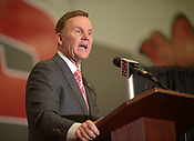 Chad Morris introduced as new UA football coach 12/7/2017