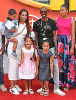 Sir Mohamed &quot;Mo&quot; Farah and his family at the &quot;Incredibles 2&quot; UK film premiere, BFI Southbank, Belvedere Road, London, England, UK, on Sunday 08 July 2018.<br /> CAP/CAN<br /> &copy;CAN/Capital Pictures