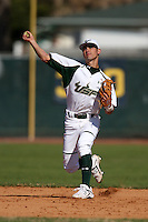 February 28, 2010:  Shortstop Chad Taylor of the South Florida University Bulls during the Big East/Big 10 Challenge at Raymond Naimoli Complex in St. Petersburg, FL.  Photo By Mike Janes/Four Seam Images