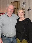 Patsy Harding celebrating his 60th birthday in the Fishermans with his aunt Joan Mullen. Photo:Colin Bell/pressphotos.ie