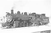 K-37 #492 in Chama yard.<br /> D&amp;RGW  Chama, NM  Taken by Richardson, Robert W.