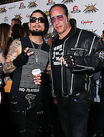 LOS ANGELES, CA, USA - APRIL 23: Dave Navarro, Andrew Dice Clay at the 2014 Revolver Golden Gods Award Show held at Club Nokia on April 23, 2014 in Los Angeles, California, United States. (Photo by Xavier Collin/Celebrity Monitor)