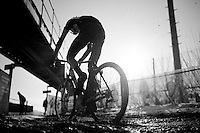 sunny/muddy racing for the U23's<br /> <br /> Azencross Loenhout 2014