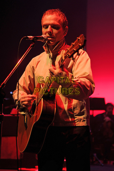 MIAMI BEACH, FL - SEPTEMBER 28: Stuart Murdoch of Belle and Sebastian performs at Fillmore Miami Beach on September 28, 2014 in Miami Beach, Florida.  <br /> CAP/MPI/mpi04<br /> &copy;mpi04/MediaPunch/Capital Pictures