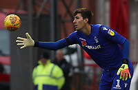 Nottingham Forest's Costel Pantilimon<br /> <br /> Photographer Rachel Holborn/CameraSport<br /> <br /> The EFL Sky Bet Championship - Nottingham Forest v Sheffield United - Saturday 3rd November 2018 - The City Ground - Nottingham<br /> <br /> World Copyright &copy; 2018 CameraSport. All rights reserved. 43 Linden Ave. Countesthorpe. Leicester. England. LE8 5PG - Tel: +44 (0) 116 277 4147 - admin@camerasport.com - www.camerasport.com