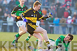 Colm Cooper Dr. Crokes v Brian Morgan Nemo Rangers in their AIB Senior Club Football Championship Munster Final at Mallow GAA Grounds on Sunday 30th January 2011.