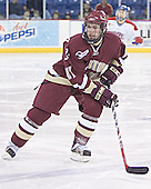 Benn Ferreiro - The University of Massachusetts-Lowell River Hawks defeated the Boston College Eagles 6-3 on Saturday, February 25, 2006, at the Paul E. Tsongas Arena in Lowell, MA.