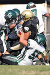 October 9, 2009: Ryan Pierson (#3) Cale Dester (South #55)
