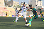 Wad Alness vs Al Shorta during the 2015 AFC Cup 2015 Group B match on April 14, 2015 at the Faisal Al Huseni Stadium in West Bank, Palestine. Photo by Adnan Hajj / World Sport Group