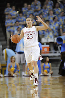 March 14, 2010.  Jeanette Pohlen during the finals of the Pac-10 tournament.  Stanford defeated UCLA, 70-46.