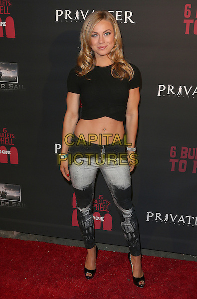 10 May 2016 - Los Angeles, California - Nikki Leigh. &quot;6 Bullets To Hell&quot; Launch. <br /> CAP/ADM/SAM<br /> &copy;SAM/ADM/Capital Pictures