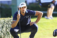 Matthieu Pavon (FRA) on the 5th green during Saturday's Round 3 of the 2018 Turkish Airlines Open hosted by Regnum Carya Golf &amp; Spa Resort, Antalya, Turkey. 3rd November 2018.<br /> Picture: Eoin Clarke | Golffile<br /> <br /> <br /> All photos usage must carry mandatory copyright credit (&copy; Golffile | Eoin Clarke)