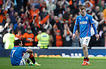 Steven Smith and Arnold Peralta dejection