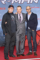 Avi Arad (Producer) ,Marc Webb (Director) and Matt Tolmach (Producer) attending the Germany premiere of the movie The Amazing Spider-Man at CineStar Sony Center in Berlin. Berlin, 20.06.2012...Credit: Timm/face to face /MediaPunch Inc. ***Online Only for USA Weekly Print Magazines*** NORTEPOTO.COM<br />