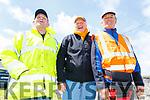Pat Carolan, Paudi Mulvihill and Packie O'Mahoney at the Ballybunion Races on Saturday .