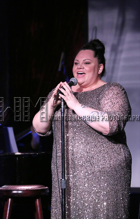 Keala Settle performing at The Lilly Awards Broadway Cabaret at the Cutting Room on October 17, 2016 in New York City.