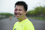 Wings for Life Ambassador and Go Player Chun Hsun Chou poses for a photograph during the Wings for Life World Run on 08 May, 2016 in Yilan, Taiwan. Photo by Victor Fraile / Power Sport Images