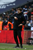 Tottenham Hotspur manager Mauricio Pochettino during Tottenham Hotspur vs Leicester City, Premier League Football at Wembley Stadium on 10th February 2019