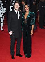 "Alexandra Burke<br /> arriving for the ""Star Wars: The Last Jedi"" film premiere at the Royal Albert Hall, London.<br /> <br /> <br /> ©Ash Knotek  D3363  12/12/2017"