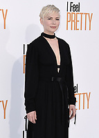 """WESTWOOD, CA - APRIL 17:  Michelle Williams at the world premiere of """"I Feel Pretty"""" at Westwood Village Theater on April 17, 2018 in Westwood, California. (Photo by Scott KirklandPictureGroup)"""
