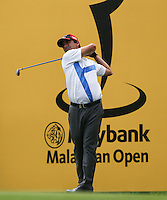 Felipe Aguilar (CHI) during the Pro-Am ahead of the 2014 Maybank Malaysian Open at the Kuala Lumpur Golf & Country Club, Kuala Lumpur, Malaysia. Picture:  David Lloyd / www.golffile.ie