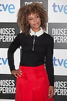 Mary Ruiz poses at `Dioses y perros´ film premiere photocall in Madrid, Spain. October 07, 2014. (ALTERPHOTOS/Victor Blanco) /nortephoto.com