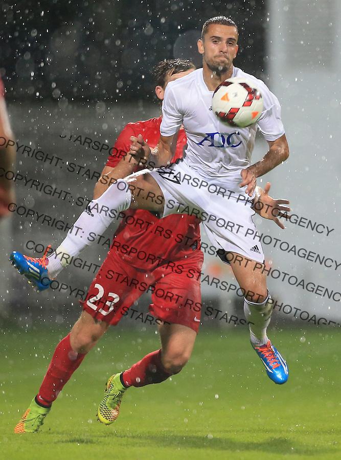 Fudbal Football Soccer<br /> UEFA Europa league-Second qualifying round, First leg<br /> Cukaricki v Grodig Austria<br /> Nikola Jankovic<br /> Beograd, 07.17.2014.<br /> foto: Srdjan Stevanovic/Starsportphoto &copy;